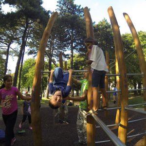 Allerheiligen Trainingspark ISW Reck für Kinder