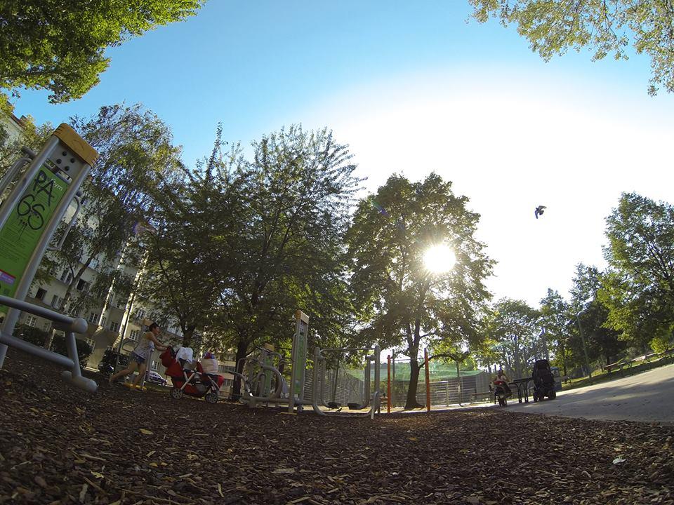 Anton Kummer Park Denispark Trainingspark ISW Vienna Austria Österreich Wien Brigittenau Sportanlage