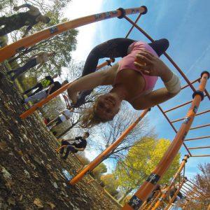 Freiluft Workout mit WIG und ISW lustiges Training