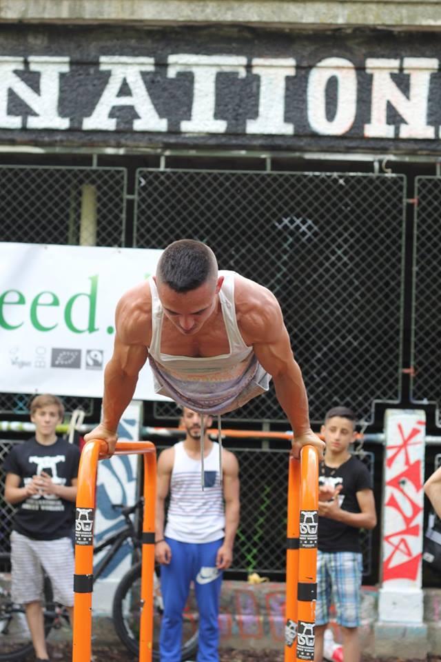 ISW Event 2016 eine Übung Planche und Nation