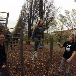 ISW Event FixFit lustiges Training - lebenslange Motivation – schnell Gratis Training – automatische Schritte Fitness - Calisthenics - Vienna Österreich - Austria Wien - Street Workout