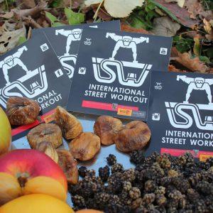 ISW + WIG Event getrocknete Früchte + Stickers - Überraschende Wege - lebenslange Motivation mit Wahrheit – garantiert Gratis Training - Fitness - sicher Calisthenics - Vienna Österreich - Austria Wien - Street Workout