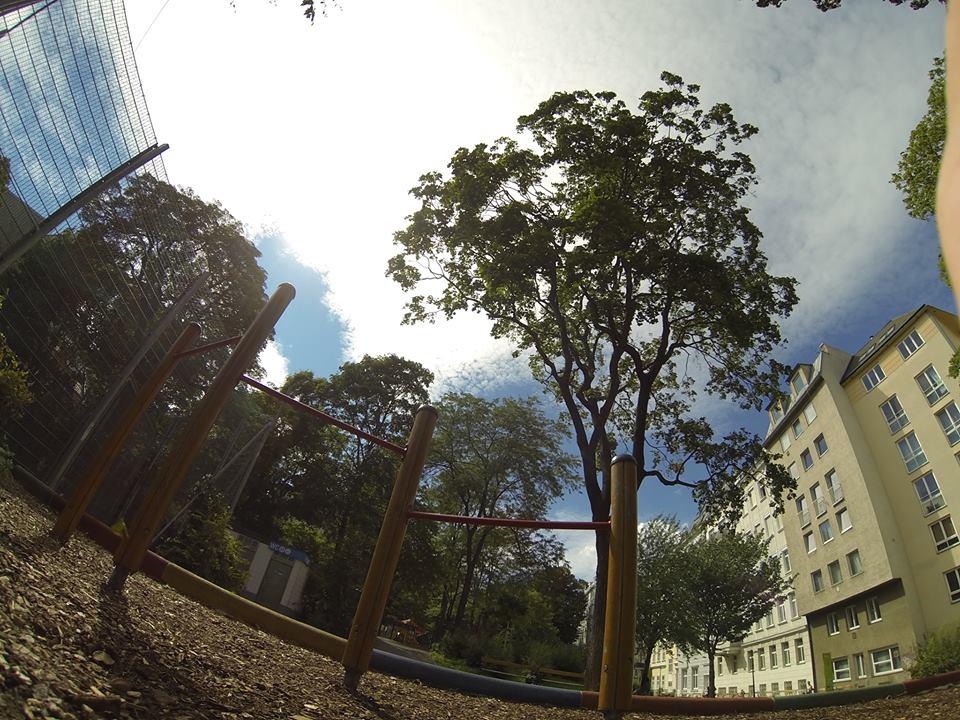 Josef Strauss Park Keiserpark – TRAININGSPARK ISW VIENNA AUSTRIA – ÖSTERREICH WIEN Neubau Recke für Kinder