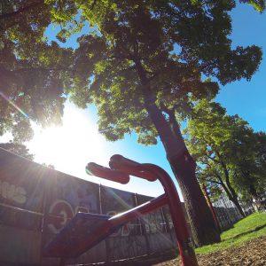 Sportplatz Bruno Kreisky Park Trainingspark ISW Vienna Austria Österreich Wien Margareten Bank für Bauchmuskel