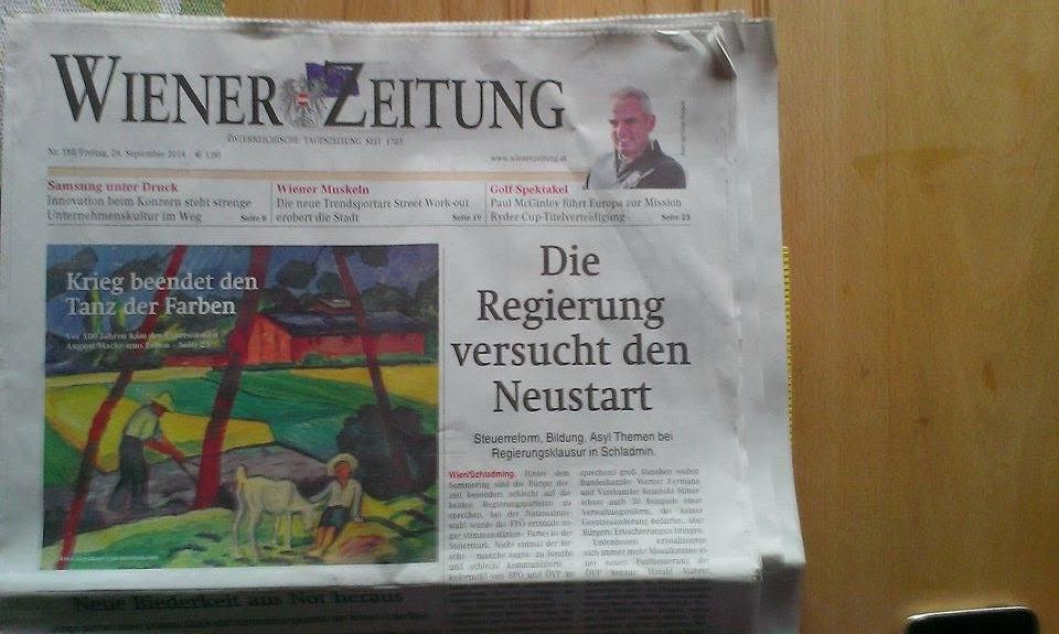 Wiener Zeitung - Reck und Barren - Oleksii Odnolkin