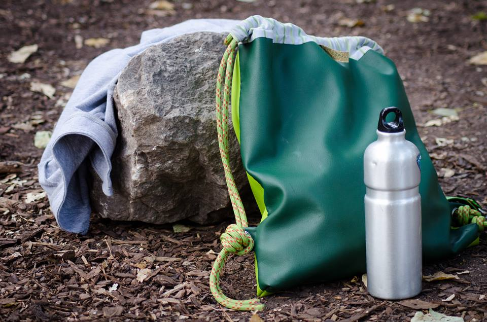 OLEKSII THE MAN THAT MAKES MIRACLES sports equipmentbag stone bottle