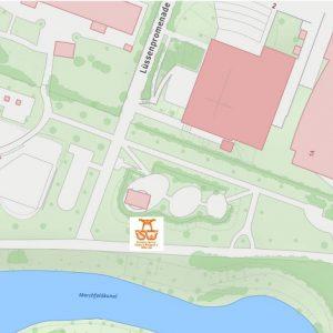 Stadtplan Wien - Tulzergasse - Sportplatz für Street Workout und Calisthenics - ISW - Vienna Austria - Österreich Wien - Floridsdorf