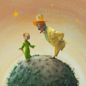 The Little Prince - Der kleine Prinz - Le Petit Prince - 120 - Antoine de Saint-Exupéry - Ganzes Buch - Originaltext mit Audios - es ist ganz einfach: man sieht nur mit dem Herzen gut - Hier mein GeheimniS - Das Wesentliche ist für die Augen unsichtbar
