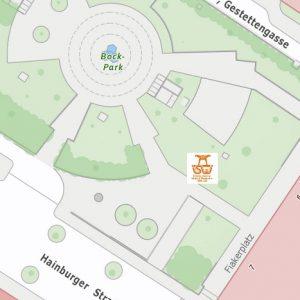 Stadtplan Wien - Bock Park - Sportplatz für Street Workout und Calisthenics - ISW - Vienna Austria - Österreich Wien - Landstrasse - Gratis Training - Fitness - sofort Motivation