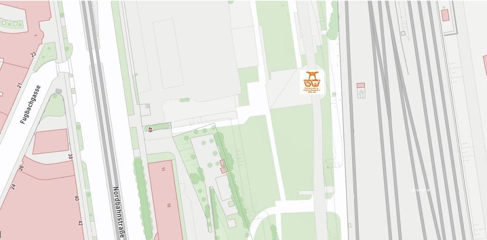 Stadtplan Wien - Franziska Löw - Sportplatz für Street Workout und Calisthenics - ISW - Vienna Austria - Österreich Wien - Leopoldstadt