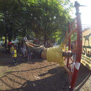 ISW Event - Das Fest der Nachbarschaft - Flagge - ultimativ überraschende Wahrheit Motivation - sparen sofort - Gratis Training - Fitness - Calisthenics - Street Workout - Vienna Österreich - Austria Wien