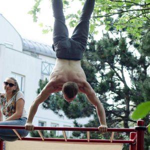 ISW Event - Das Fest der Nachbarschaft - Standfestigkeit - ultimativ überraschende Wahrheit - Motivation - sicher Experte - Gratis Training - Fitness - Calisthenics - Street Workout - Vienna Österreich - Austria Wien