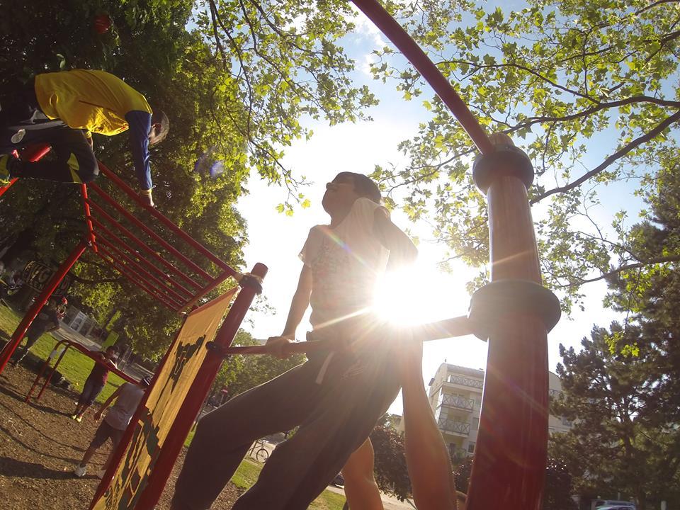 ISW Event Das Fest der Nachbarschaft heißes Training