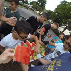 TRAINING - ISW + JZ16 - Verteilung von Scheiben der Wassermelone - Großartig - Überraschende Weg – sdicher lebenslange Motivation mit Wahrheit – jetzt Fitness - Calisthenics - Vienna Österreich - Austria Wien - Studie Street Workout