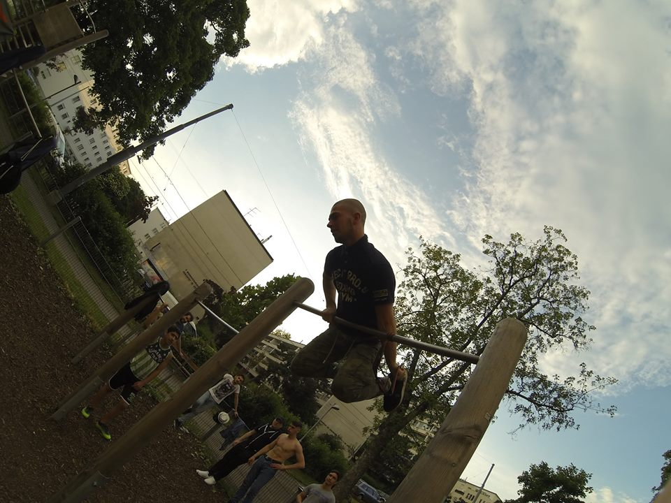 TRAINING ISW JZ16 Vorbereitung zu One Arm Muscle up
