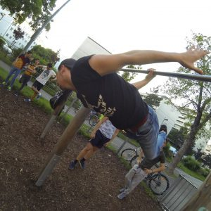 TRAINING ISW JZ16 one arm back lever