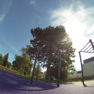 Grellgasse Sportplatz Trainingspark ISW Vienna Austria Österreich Wien Floridsdorf Barren