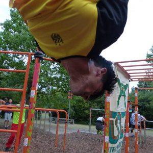 ISW EVENT - GEMEINSCHAFT VON DONAUINSEL - Langsame Körpersenkung - Tricks mit Motivation – sparen sofort - Gratis Training - Fitness - Vienna Österreich - Austria Wien - Calisthenics - Street Workout
