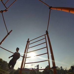 Flohberg - Trainingspark ISW - Vienna Austria - Österreich Wien Meidling - Sprossenwand und Reckstangen - Motivation - Gratis Training - Street Workout - Calisthenics - Fitness - GroßartiG