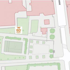 Stadtplan Wien - Tigerpark - Sportplatz für Street Workout und Calisthenics - ISW - Vienna Austria - Österreich Wien - Josefstadt - Gratis Training - Fitness - sofort Motivation