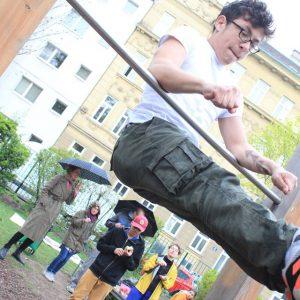 ISW EVENT Fit im Park - Die Gedanken sind frei – solange man sie nicht ordnet - Vienna Österreich - Austria Wien - Street Workout - Motivation - Gratis Training Calisthenics - Fitness - Außergewöhnlich - jetzt