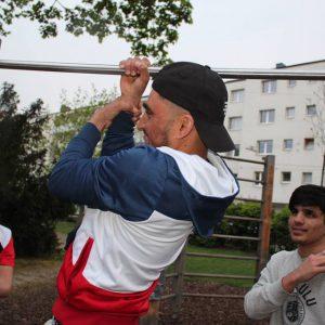 ISW EVENT Fit im Park - Wer werden will, was er sein sollte, der muss lassen, was er jetzt ist - Vienna Österreich - Austria Wien - Street Workout - Motivation - Gratis Training Calisthenics - Fitness - Außergewöhnlich - jetzt