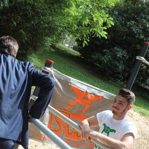 ISW EVENT - International Street Workout - Sportplatzeröffnung - Amadeus International School - Ein Professor ist ein Mann - Ignaz Semmelweis - Vienna Österreich - Austria Wien - Gratis Training Calisthenics - Fitness - Außergewöhnlich - Perfekt - Motivation