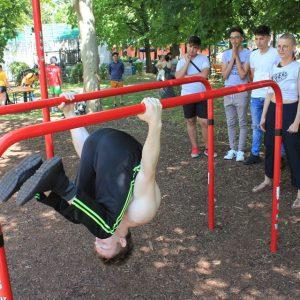 Nachbarschaftsfest in Ottakring mit ISW - International Street Workout - Atemberaubende Rotation - Gratis Training - Calisthenics - Fitness - einfach Motivation - Vienna Österreich - Austria Wien