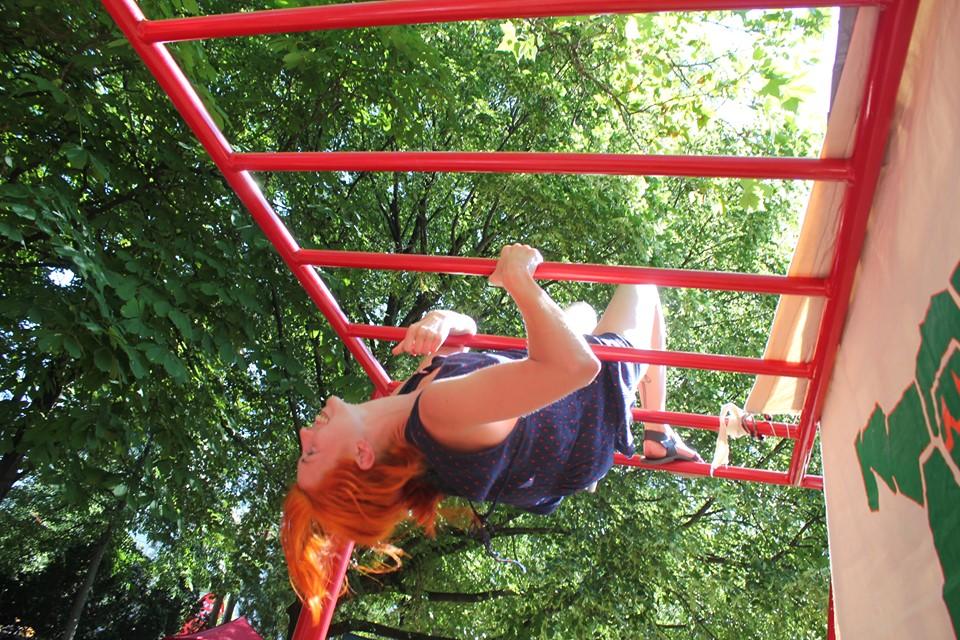 Nachbarschaftsfest in Ottakring mit ISW - International Street Workout - Manche verwechseln Flexibilität mit Inkonsequenz