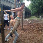 International Street Workout ISW - Österreich Wien - Vienna Austria - Roßauer Lände - Donaukanal - Training - Man sollte Sport treiben, ohne vom Sport getrieben zu werden