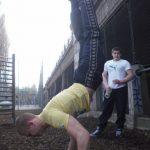 International Street Workout ISW - Österreich Wien - Vienna Austria - Roßauer Lände - Donaukanal - Training - Wer sich seiner Gesundheit erfreue, möge sich auch all seiner Sinne im Klaren sein