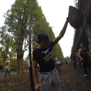 International Street Workout ISW - Österreich Wien - Vienna Austria - Roßauer Lände - Training - Fühlst du dir Stärke genug, der Kämpfe schwersten zu kämpfen