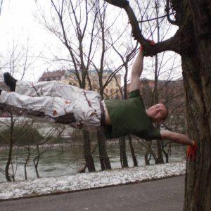 International Street Workout ISW - Roßauer Lände - Donaukanal - Training - Man darf dem Glück aus der Vergangenheit nicht im Wege stehen für das Glück der Zukunft 1. Februar 2014