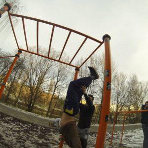 International Street Workout ISW - Vienna Austria- Training - Calisthenics - Erst wenn man die volle Kraft des Winters erlebt hat, wird man den Frühling in vollen Zügen genießen können