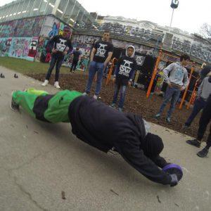International Street Workout ISW - Österreich Wien - Vienna Austria - Roßauer Lände - Training - Calisthenics - Die Kraft des Genies wächst mit dem Umfang der Dinge