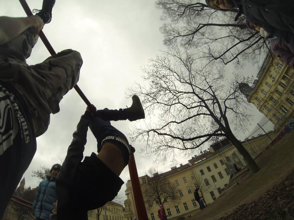 International Street Workout ISW - Österreich Wien - Vienna Austria - Roßauer Lände - Training - Calisthenics - Einem alten Hund lehrst du keine neuen Tricks