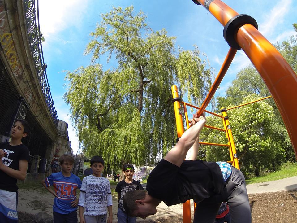 International Street Workout ISW - Österreich Wien - Vienna Austria - Roßauer Lände - Training - Calisthenics - Man braucht Kraft um stark zu sein, aber man muß Mut haben, um höflich zu sein