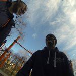 International Street Workout ISW - Österreich Wien - Vienna Austria - Roßauer Lände - Training - Calisthenics - Man sollte nur immer um Kraft beten