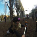 International Street Workout ISW - Österreich Wien - Vienna Austria - Roßauer Lände - Training - Calisthenics - Wie die Kraft, so ist das Ideal