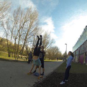 International Street Workout ISW - Österreich Wien - Vienna Austria - Roßauer Lände - Training - Calisthenics - Wo weder zum Weinen Kraft ist noch zum Lachen, lächelt der Humor unter Tränen