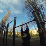 International Street Workout ISW - Vienna Austria - Österreich Wien - Training - Roßauer Lände - Calisthenics - Durch richtige Übung können wir allmählich unsere negativen Emotionen verringern