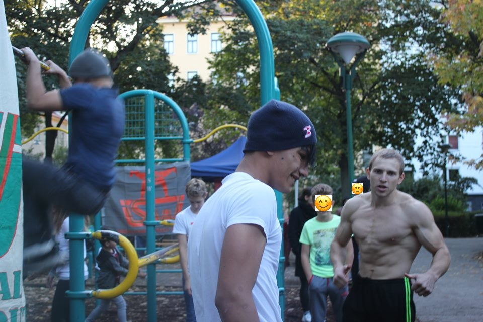 =) ISW Event in Favoriten - International Street Workout - Calisthenics - Bewußtheit - Bilder zeigen, was wir erkennen, nicht, was wir sehen
