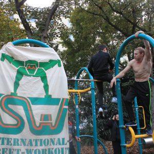 ISW Event in Favoriten - International Street Workout - Calisthenics - Grüß meine Freunde, zeig meinen Feinden ein Stirnrunzeln