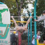 =) ISW Event in Favoriten - International Street Workout - Calisthenics - Man kann nicht immer Niveau zeigen, schließlich ist man keine Wasserwaage