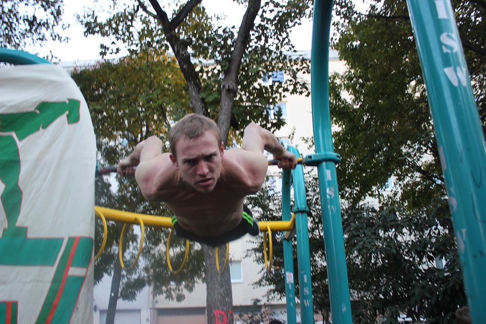 ISW Event in Favoriten - International Street Workout - Calisthenics - Zeig dein Maß nicht jedermann, strenge dich nur manchmal an