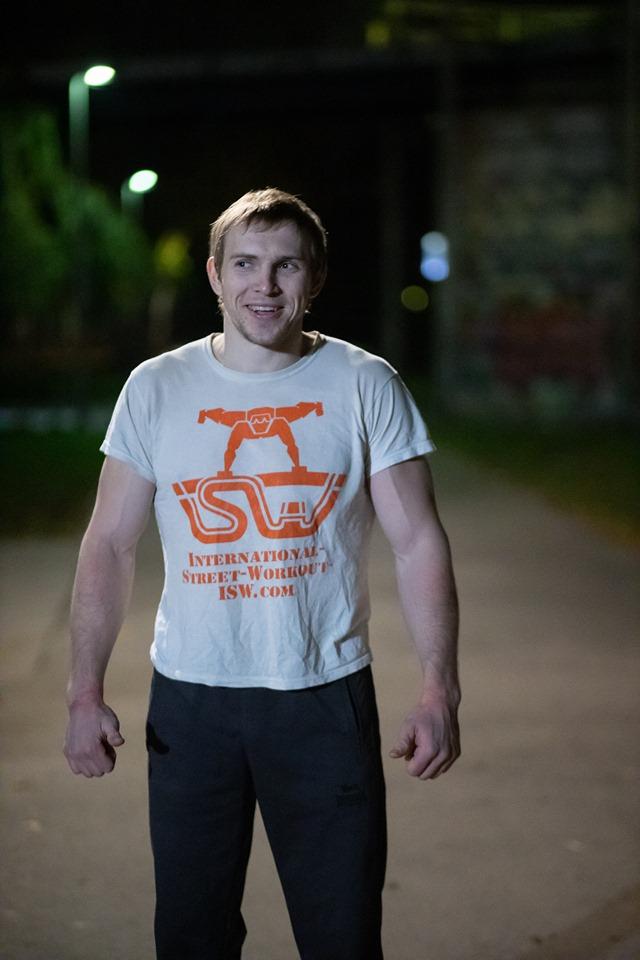 Die Engel offenbaren sich - aber nur jenen, die sie lieben und anrufen - Oleksii Odnolkin - ISW - Street Workout - Calisthenics