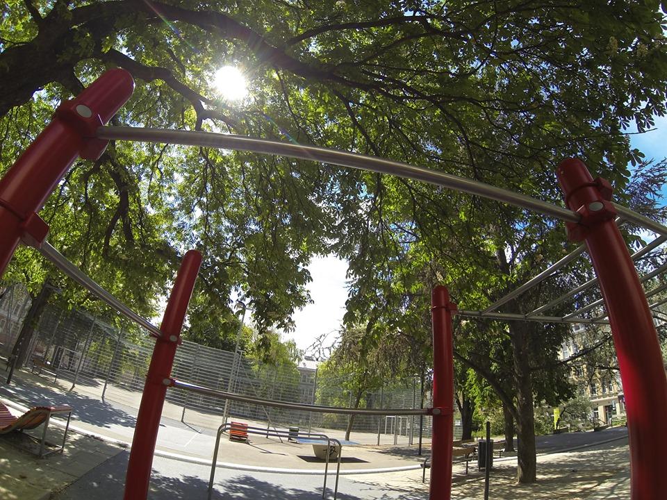 Forschneritschpark - Trainingspark ISW - Vienna Austria - Österreich Wien - Rudolfsheim-Fünfhaus - Sportgeräter