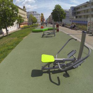 Johnstraße Sportplatz - Trainingspark ISW - Vienna - Österreich Wien - Rudolfsheim-Fünfhaus - Quasi Fahrrad 2