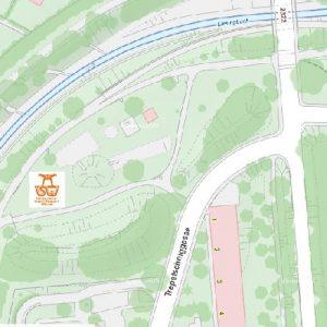 Stadtplan Wien - Alterlaa - Sportplatz für Street Workout und Calisthenics - ISW - Vienna Austria - Österreich Wien - Liesing - Parkanlage Trepetschniggasse