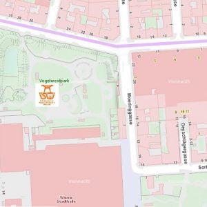 Stadtplan Wien - Wiener Stadthalle - Sportplatz für Street Workout und Calisthenics - ISW - Vienna Austria - Österreich Wien - Rudolfsheim-Fünfhaus